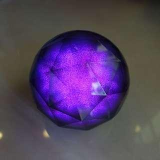 Color ball Speaker 水晶魔幻變色彩球藍牙音響 帶遙控迷你音響