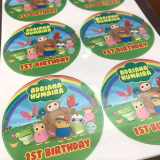 Customised Birthday Baby Shower Full Month 100 day Wedding Engagement Stickers Labels Didi And Friends