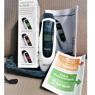 Thermometer Dual Mode Functionality | Head and Ear |  Free Delivery