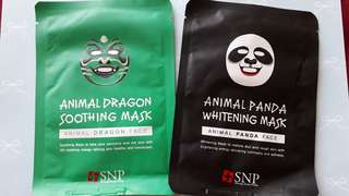 (TAKE ALL 15RIBU) SNP Animal Mask