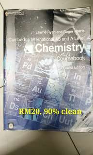 A LEVEL CHEMISTRY & BIOLOGY REFERENCE BOOKS