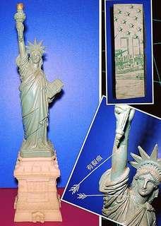 美國 自由神像 擺設  中古