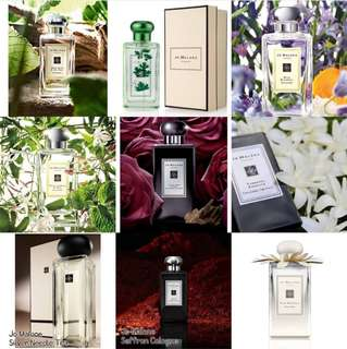 JO MALONE AUTHENTIC TESTERS