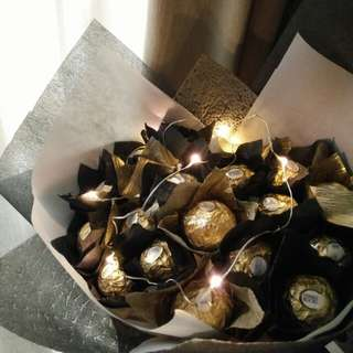 Teacher's Day Chocolate Bouquet + Fairy Lights @Clementi !