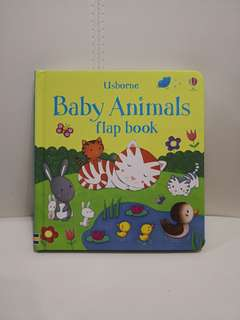 Usborne My First Animal Flap Book