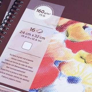 Canson Mi-Teintes Pastel Paper 50% Cotton (24cm x 32cm, 15pcs)