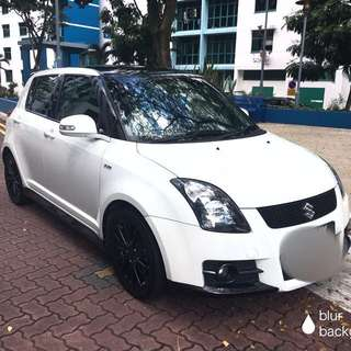 Suzuki Swift sport 1.6A for rent