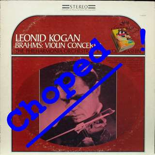 leonid kogan Vinyl LP used, 12-inch, may or may not have fine scratches, but playable. NO REFUND. Collect Bedok or The ADELPHI.
