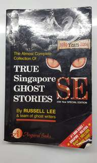 True Sg ghost stories- 25th yr special edition