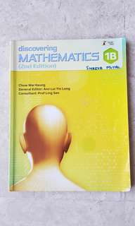 Discovering Mathematics 1B second edition