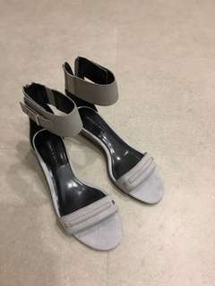 Charles & Keith Grey Shoes