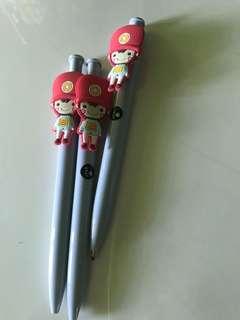 Soldier pen (black ink)