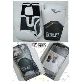 Everlast Pro Style Elite Training Gloves White 16oz