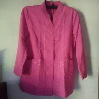 1stel baju guru jumbo pink