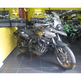 BMW F700GS 2013 $17K  D/P $1500 or $500 Without Insurance  (Terms and conditions apply. Pls call 67468582 De Xing Motor Pte Ltd Blk 3006 Ubi Road 1 #01-356 S 408700.
