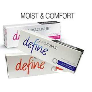 Acuvue define daily 5 pasang
