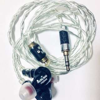 The FitEar F111 #083448 (with Audiohive Cerana cable)