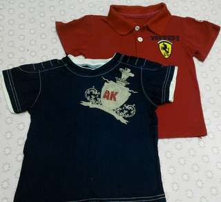 Preloved 24m Boys T-shirt set