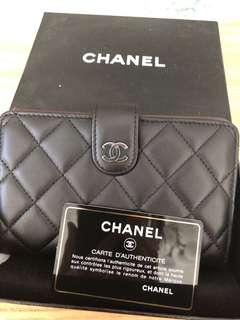 Chanel Wallet lamb skin