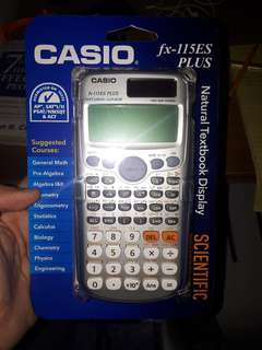 Casio Calculator Fx-115 es plus