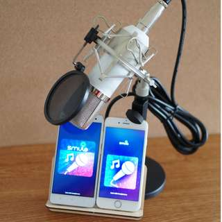Condenser Mic for iPhone / Android / Laptop / PC
