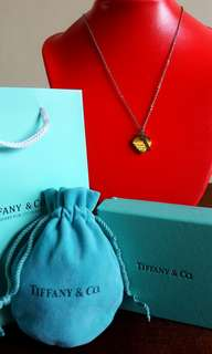 TIFFANY & CO.  Heart n' Key gold  Necklace