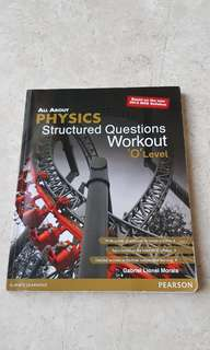 All About Physics Structured Question Workout