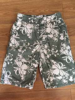 Floral Shorts for boys for 8-10 y/o