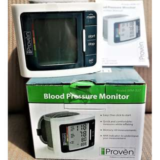 Blood Pressure Monitor | Wrist Cuff Type | Free Delivery