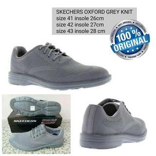 Sepatu Skechers Original Grey