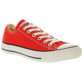 Converse All Star Low Red Canvas Sneakers Sz EU 48 / UK 13
