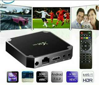Android Tv Box Watch live TV Drama Movies World Cup EPL Sports