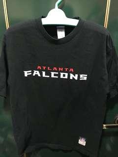 🚚 Reebok 美式橄欖球大聯盟ATLANTA FALCONS亞特蘭大獵鷹球隊,NFL,M,肩52、長70