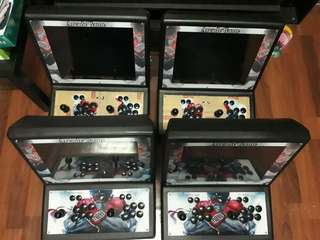 BIG ARCADE DUAL JOYSTIC