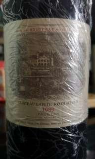 Chateau Lafite Rothchild 1989