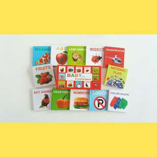 12's Mini Board Books