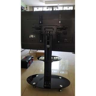 TV Mobile Stand glass base Whatsapp:8778 1601