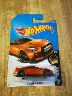 Hot wheels nissan gtr (R35)