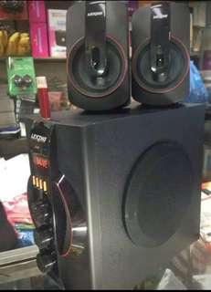 Lexing multimedia speaker