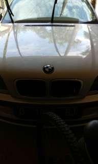 BMW 318 silver metalic tahun 2000 matic mulus