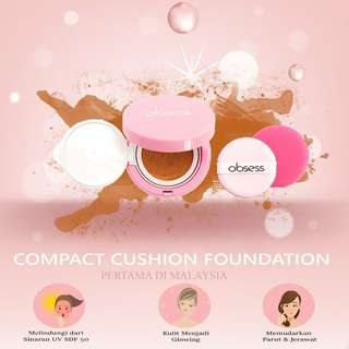Obsess Cosmetics DD Cushion Foundation