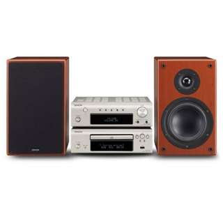 HIFI Denon CD Player and Stereo-Receiver. 2 speakers DF107