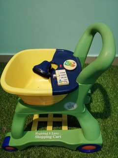 Leapfrog trolley
