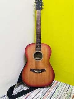 🚚 搖滾旅行吉他(換新弦,整理賣出)