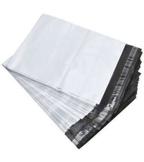 White Polymailers