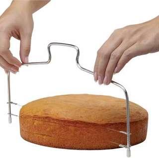 [pre-order預訂]Adjustable Cake cutter 蛋糕水平切割刀(雙線)