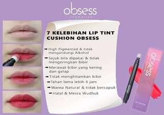 Obsess Cosmetics Lip Tint Cushion