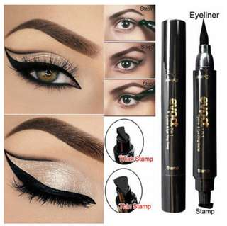 🚚 2 in 1 Eyeliner & Eye wing stamp