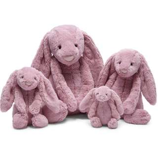 Authentic pink jellycat bunny