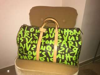 Louis Vuitton graffiti Stephen Sprouse Keepall